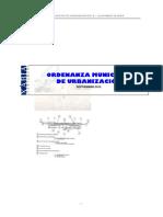 00 Ordenanza Municipal Urbanización JAVEA