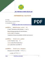 Cem Differential Calculus