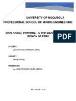 Geological Potential