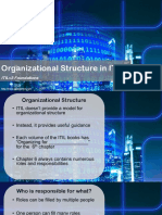 08 Organizational Structure in ITIL