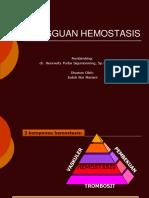 Referat Gangguan Hemostasis Ppt