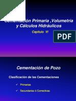6. CP Cementación Primaria -Calculos