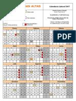 Calendario CPA 2017