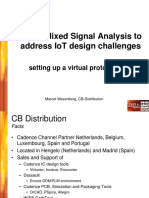 Using Mixed Signal Analysis to Address IoT Design Challenges