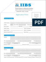 MBA PGDM Application Form(1)