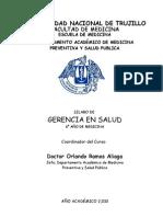Gerencia en Salud Sillabujs 2010 CORREGIDO