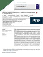 1. EPA Guidance on Quality Assurance in Mental Health Care W. Gaebel Et Al