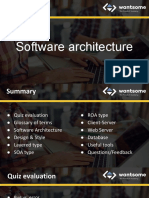 03. Software Architecture