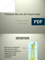 Fracture 2 Os Avant-bras