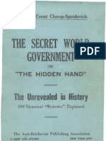 Cherep-Spiridovich - The Secret World Government or the Hidden Hand (1926)