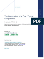 Composition of Tyre