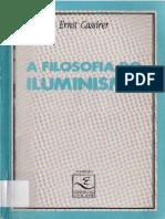 Ernst CASSIRER. a Filosofia Do Iluminismo