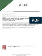 Legal Pluralism in PH