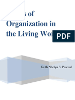 Levels of Organization in the Living World