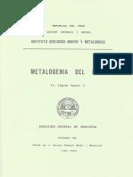 B 004 Boletin Metalogenia Del Peru
