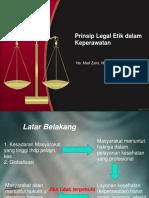 Prinsip Legal Etik Dalam Keperawatan