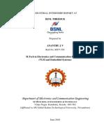Industrial Training Report Bsnl