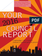 2016 Cambridge Labour Residents' Report