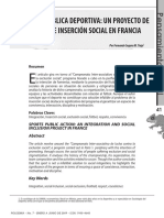 Acción Pública Deportiva Francia