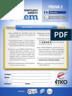Simulado Enem1301-Prova 2.Indd