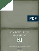Colegio Liceo Mazateco