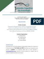 II Circular I Jornadas Argentinas de Aracnologia 2016