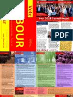 2018 Cambridge Labour Residents' Report