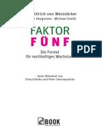 Faktor Fünf Excerpt