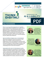 Key Conclusions - AI & Liability - June 20, 2018