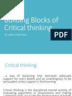 Critical Thinking-Building Blocks 2018 - Copy