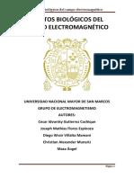 Efectos Biológicos Del Campo Electromagnético