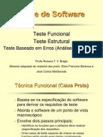 TesteFuncional Estrutural AnaliseMutantes