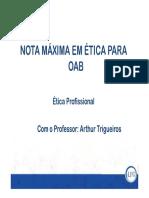 Aula 22 Mat de Apoio - Aulas Teóricas e RQ - Arthur Trigueiros - Inf e Sanções Disciplinares III