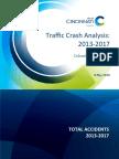 CPD Traffic Crash Analysis 2013-2017 (8 May 2018)