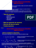 Reactores enzimaticos