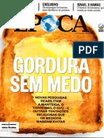 Revista Época Ed. 844 Gordura Sem Medo