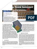 Discharge Screw Conveyors Design Selection