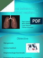 Evaluarea Bolnavului Cu Afectiuni Respiratorii