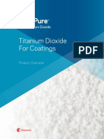 Ti Pure for Coatings Overview