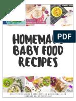 Homemade Baby & Toddler Food Recipes using Beaba credits FB