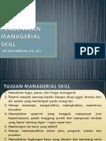 Pengenalan Managerial Skill