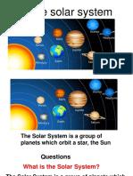 Unit 1 Social Science Solar System