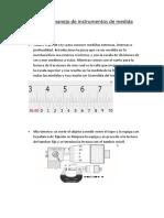 Simulación y Manejo de Instrumentos de Medida