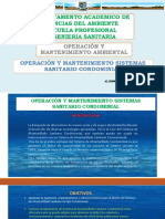 Sistema Condominial Operac y Mant Ambiental