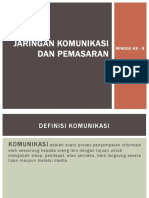 Jaringan Komunikasi Dan Pemasaran-1