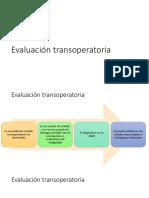 Evaluación Transoperatoria ONCO