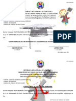 Certificado de Educacion Primaria - Modificado