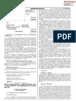 D. S. N° 155-2018-EF - DISPOSICIONES PARA EL OTORGAMIENTO DEL AGUINALDO POR FIESTAS PATRIAS