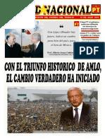 Unidad Nacional  15 Julio 2018