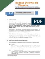 10. ESPECIFICACIONES TECNICAS